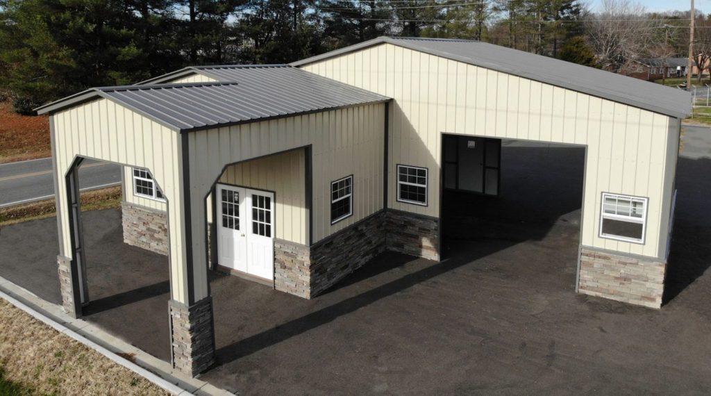 Custom Metal garages